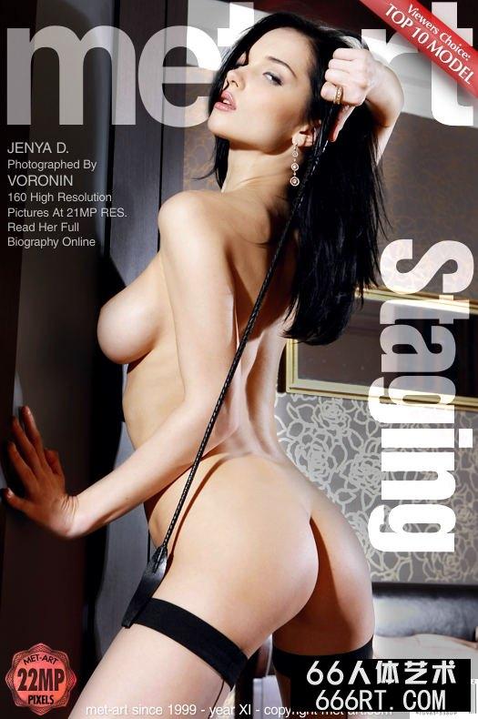 美得让人心颤的美模Jenya肉丝人体-1